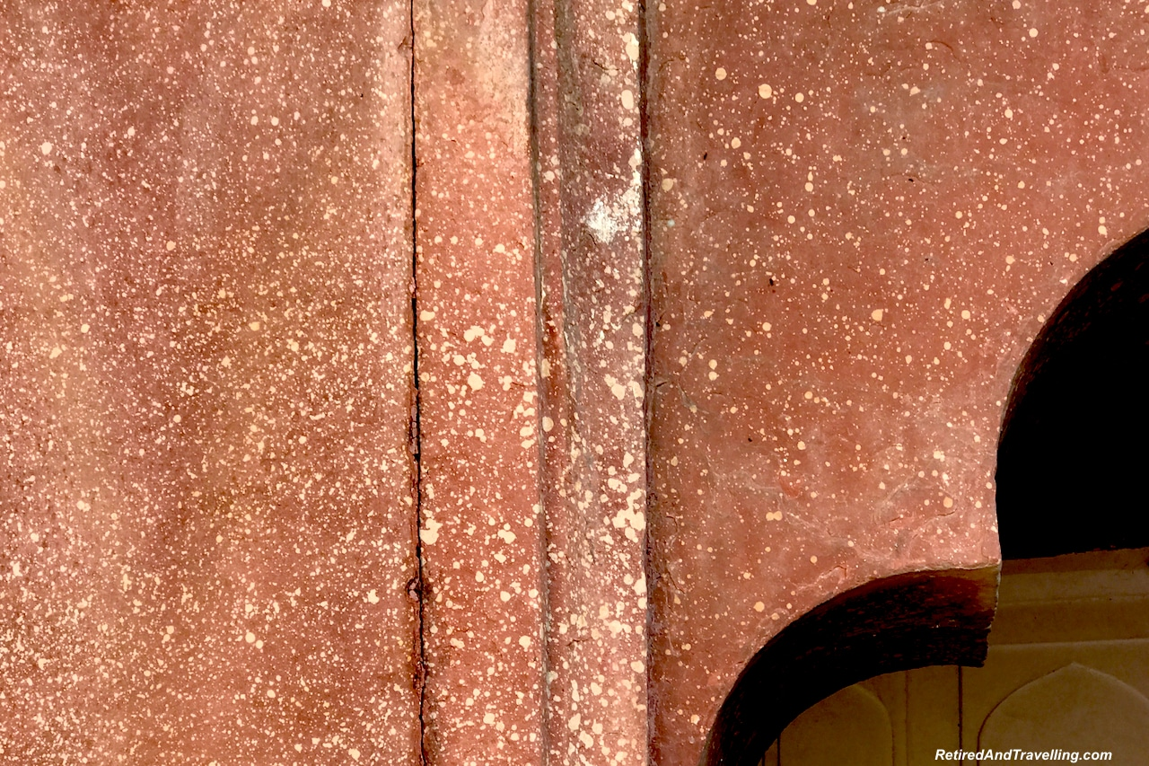 Red Sandstone Close - Red Fort in Agra.jpg