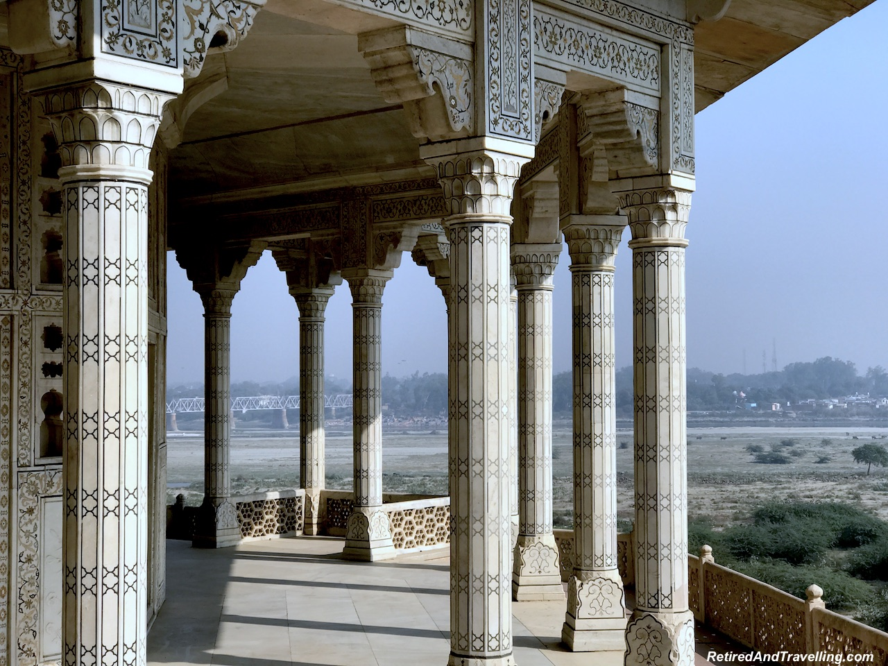 Khas-Mahal Palace View - Red Fort in Agra.jpg