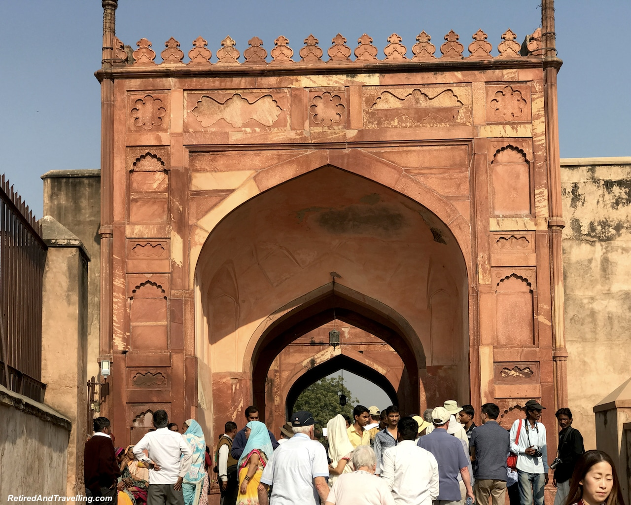 Buildings and Arches - Red Fort in Agra.jpg