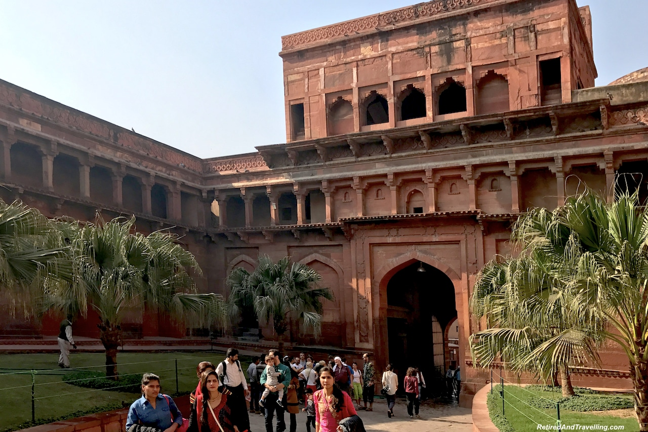 Buildings and Tiles - Red Fort in Agra.jpg