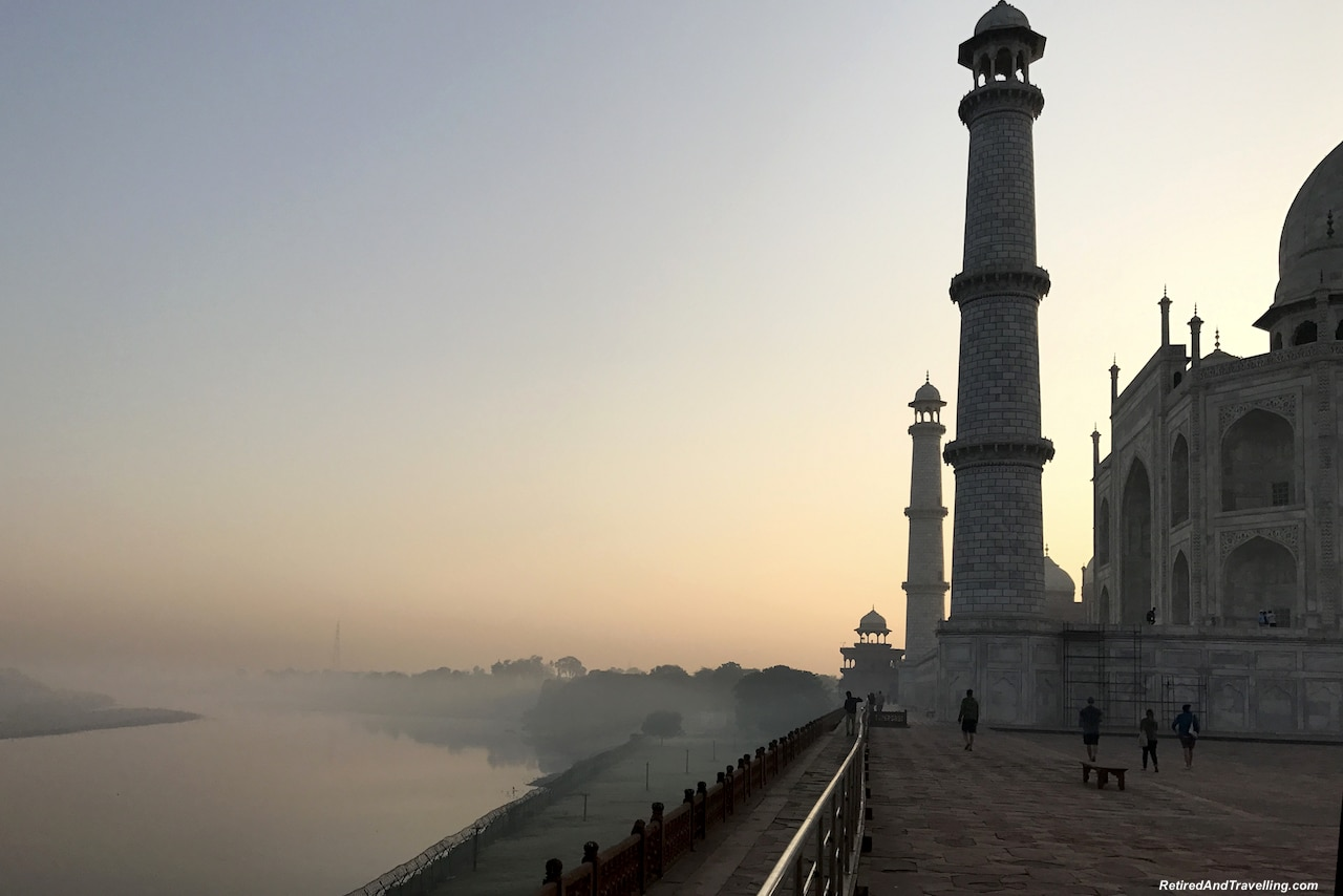 Morning Mist - Taj Mahal at Sunrise and Sunset.jpg