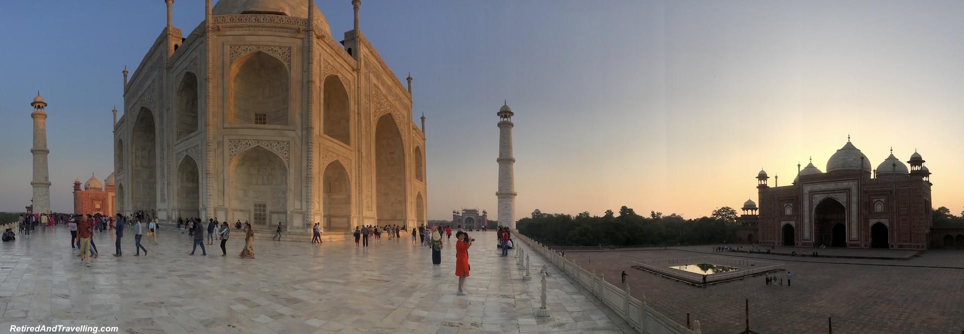 Sunset - Taj Mahal at Sunrise and Sunset.jpg