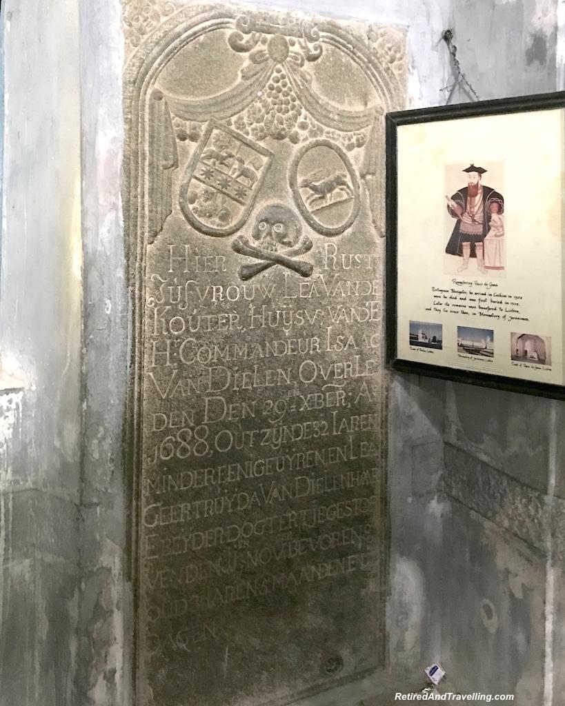 Vasco Da Gama Tomb - St Francis Church - Walking Tour of Cochin India.jpg