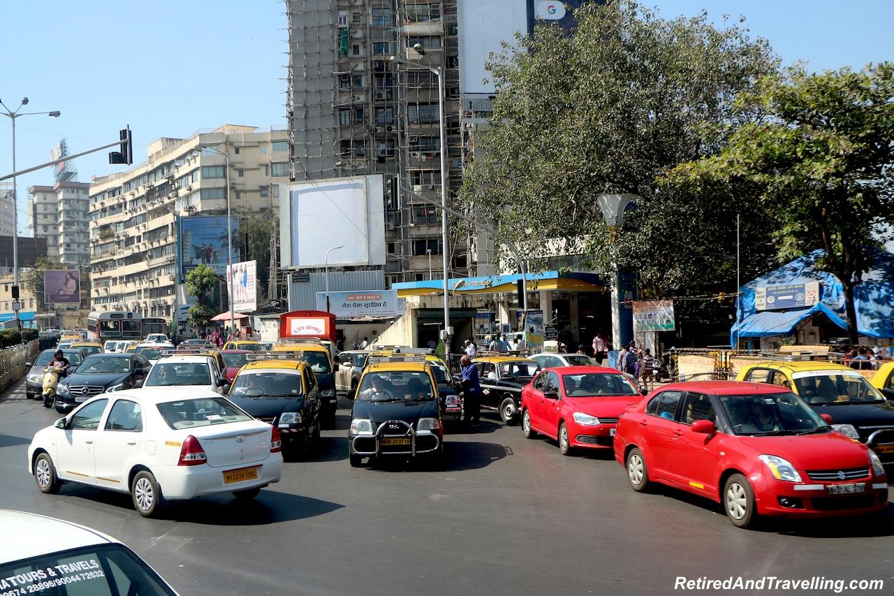 Mumbai Traffic - Religious Diversity on a Tour of Mumbai.jpg