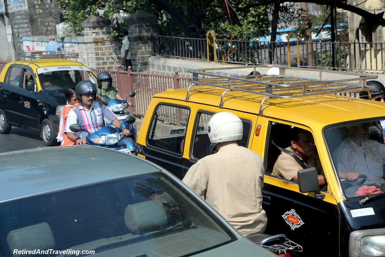 Mumbai Traffic - Religious Diversity on a Tour of Mumbai.jpg