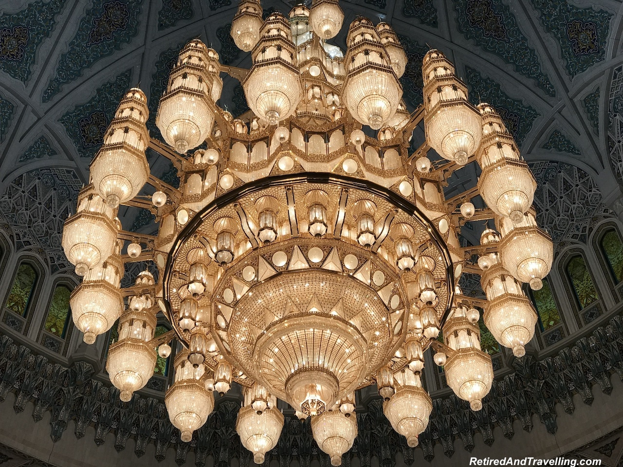 Main Prayer Room Dome Chandelier - Grand Mosque in Muscat.jpg