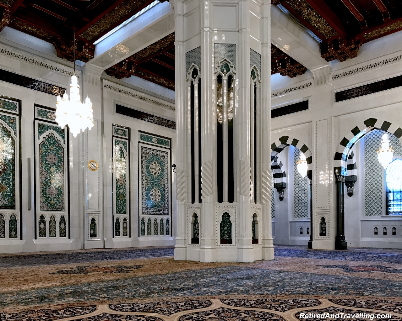 Main Prayer Room Detail - Grand Mosque in Muscat.jpg