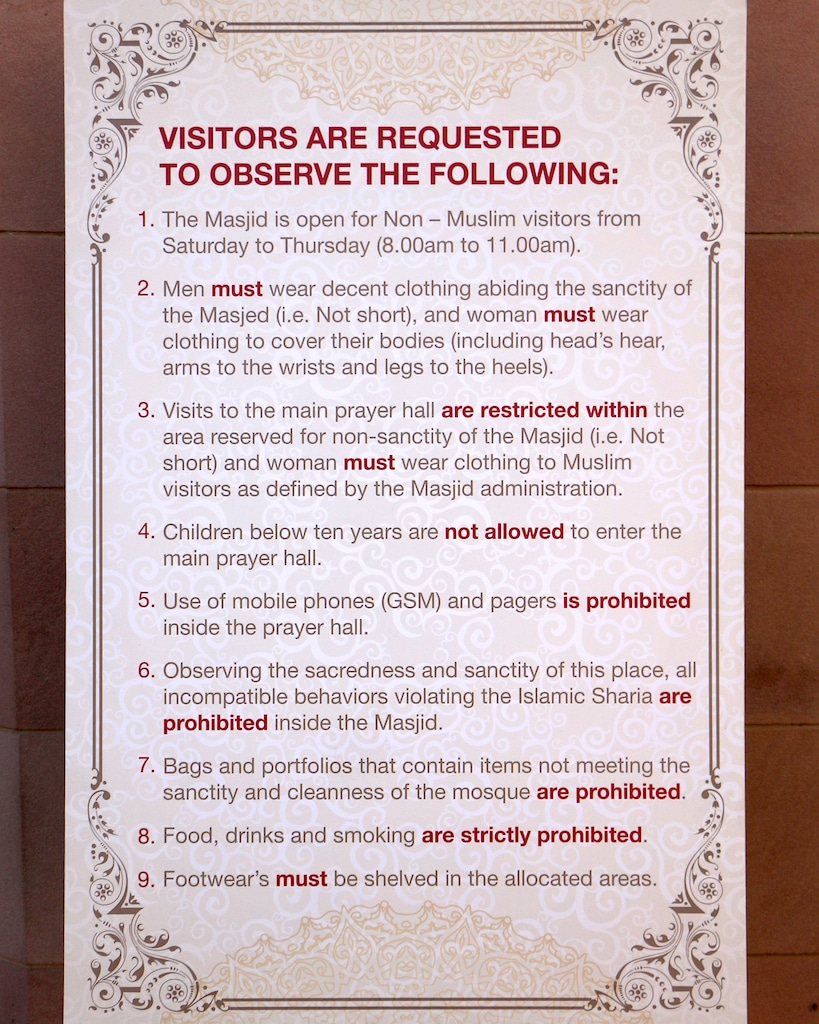 Rules - Grand Mosque in Muscat.jpg