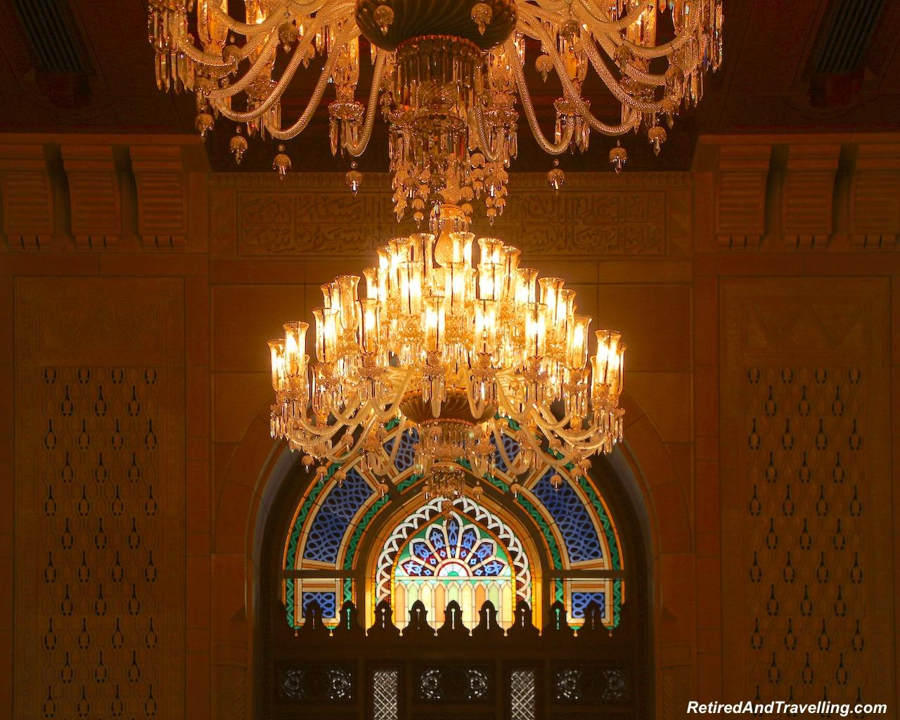 Women's Prayer Room Chandeliers - Grand Mosque in Muscat.jpg