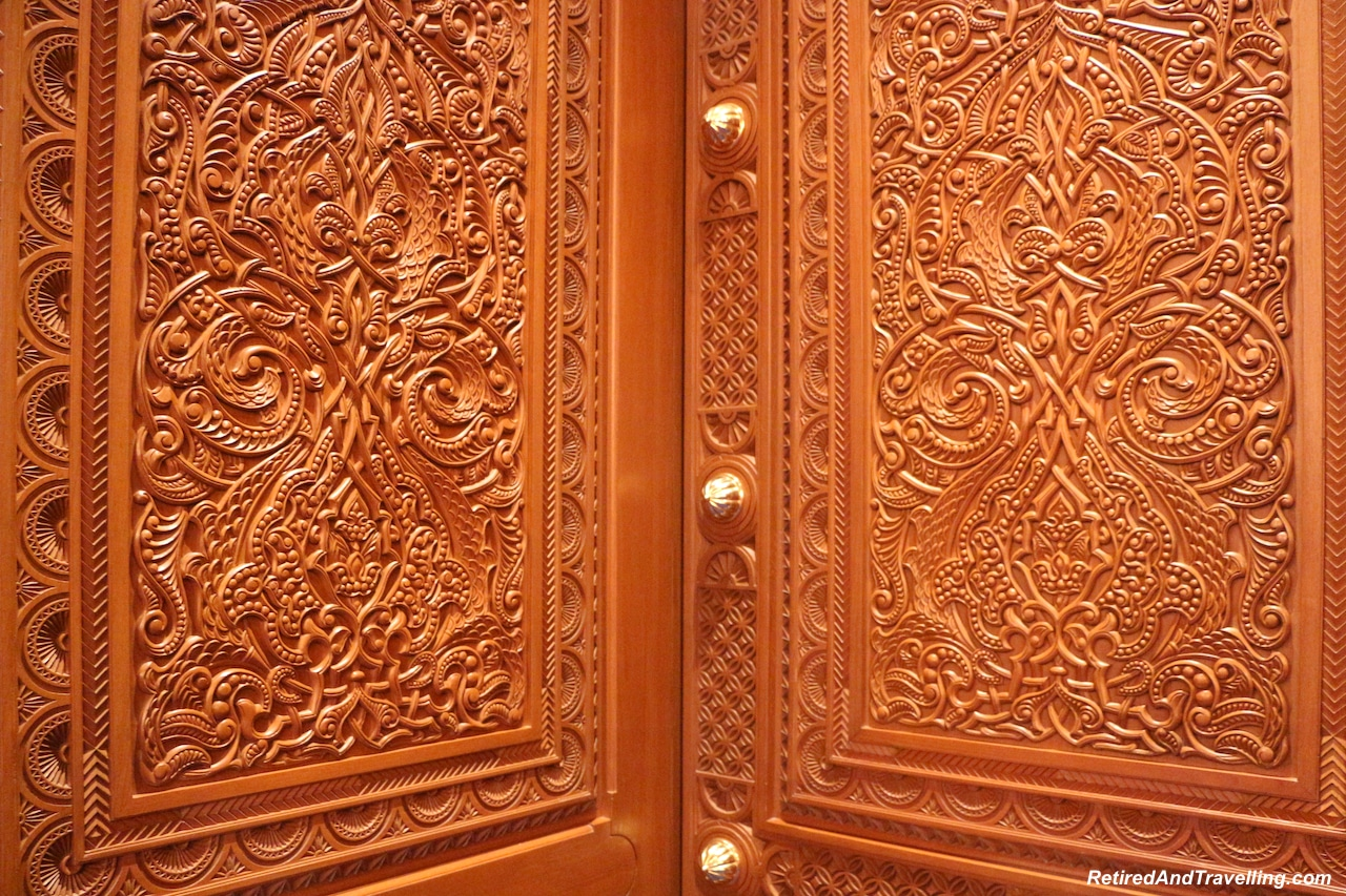 Women's Prayer Room Carved Doors - Grand Mosque in Muscat.jpg