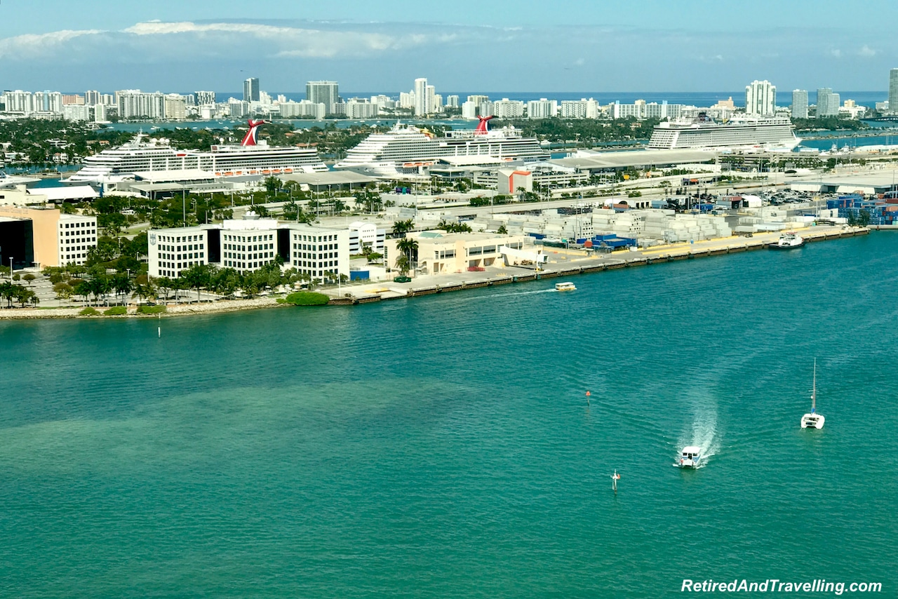 Intercontinental Miami View of Miami Harbour - Starting A Cruise In Miami.jpg