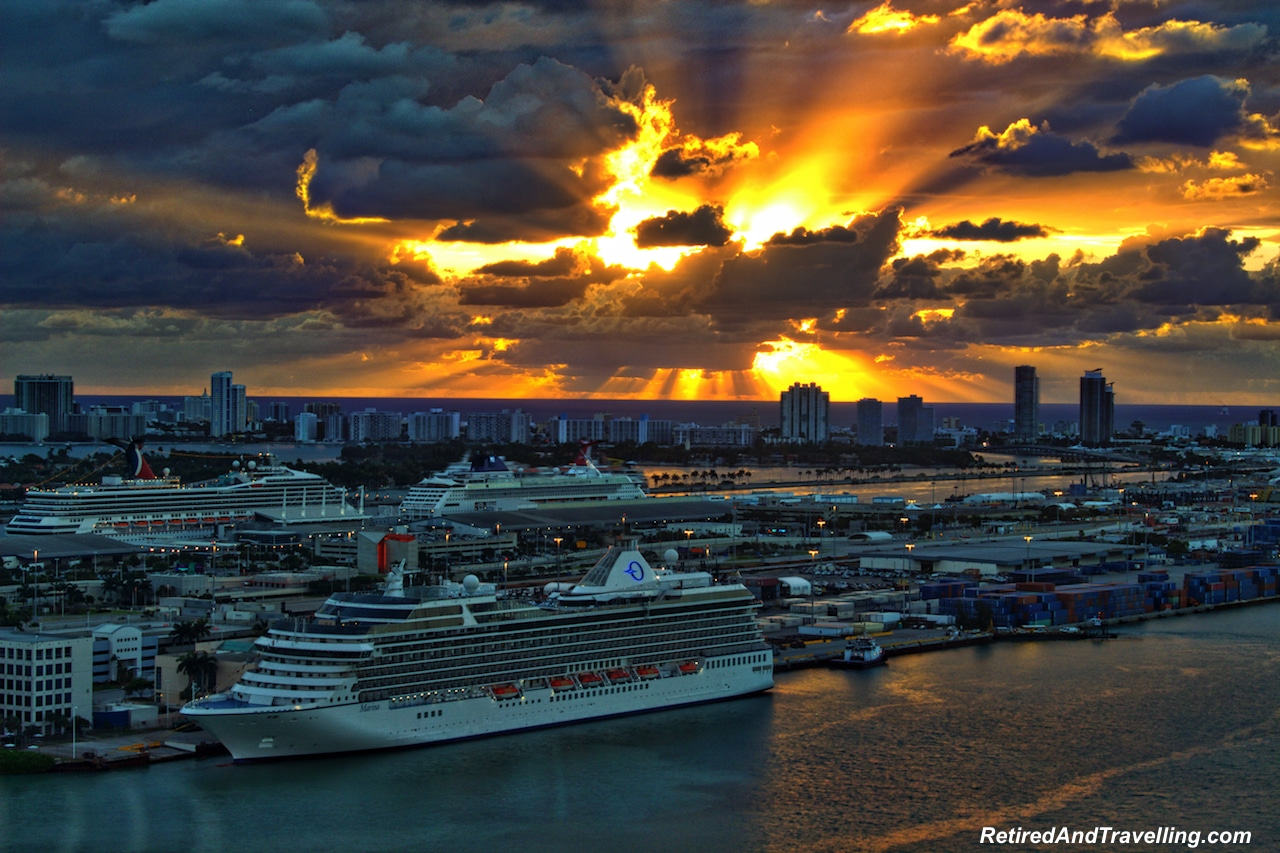 Miami Sunrise on Oceania Cruises Ship - Starting A Cruise In Miami.jpg