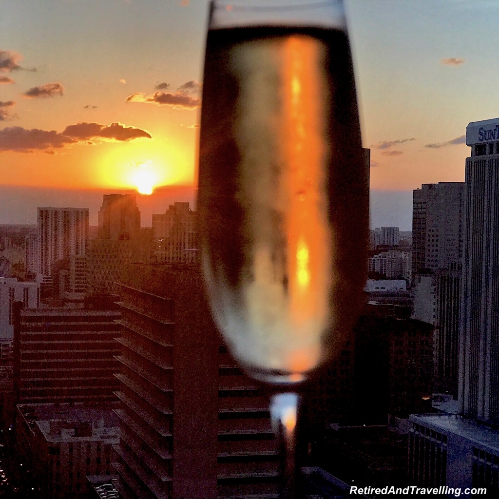 Miami Sunset Champagne - Starting A Cruise In Miami.jpg