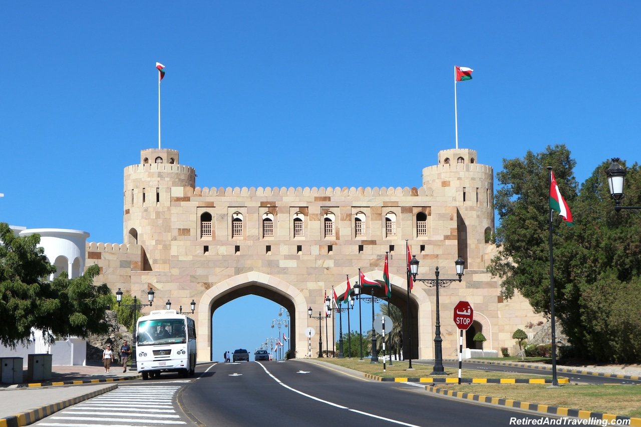 Entering Old Town Gates - Things To Do In Muscat.jpg