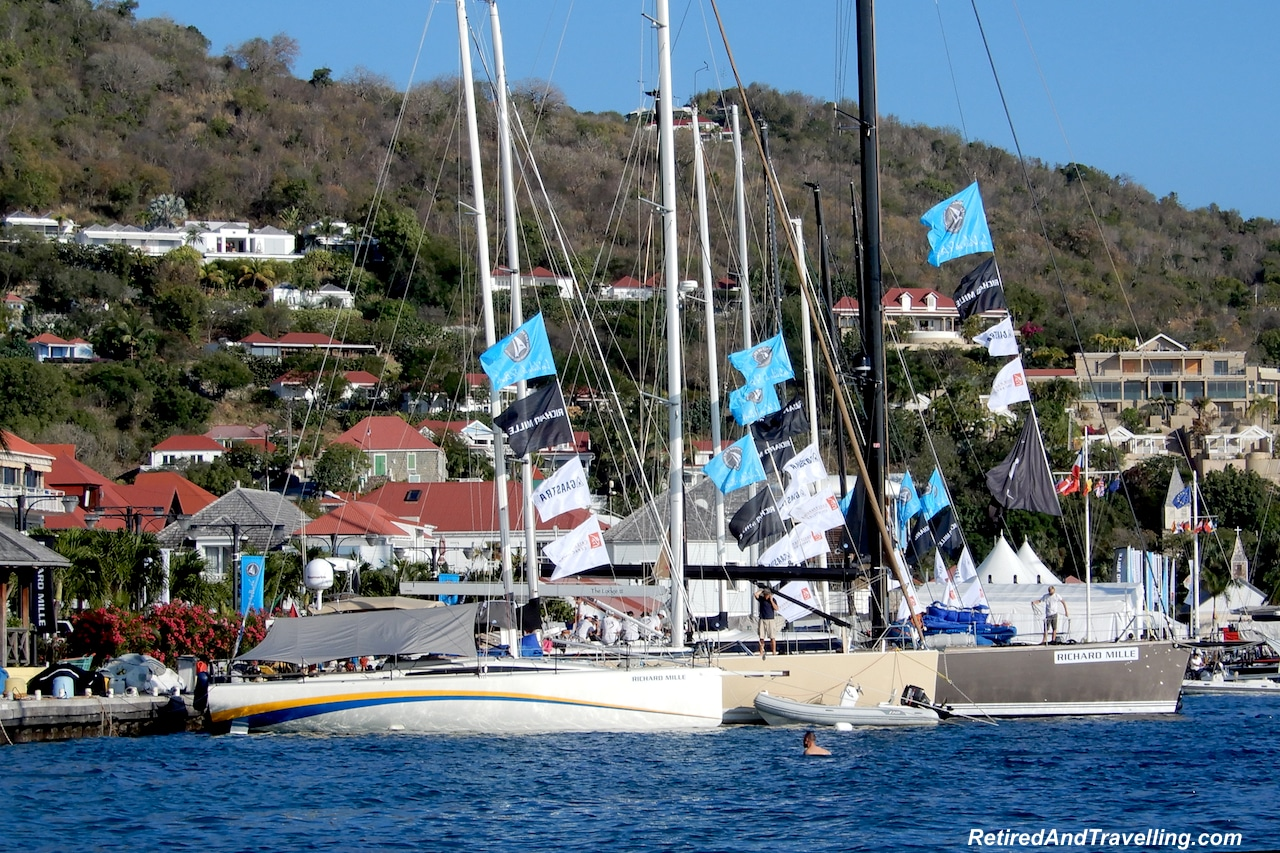 Sailboats in Gustavia Port - Head To The Beach in St Barts.jpg
