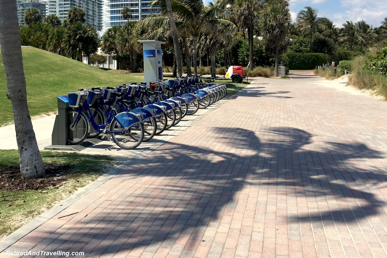 Rental Bikes - South Beach - Starting A Cruise In Miami.jpg