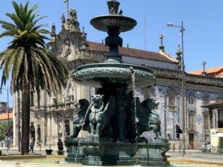Church Igreja dos Camelitas Fountain - Art Everywhere When We Walked Around Porto.jpg