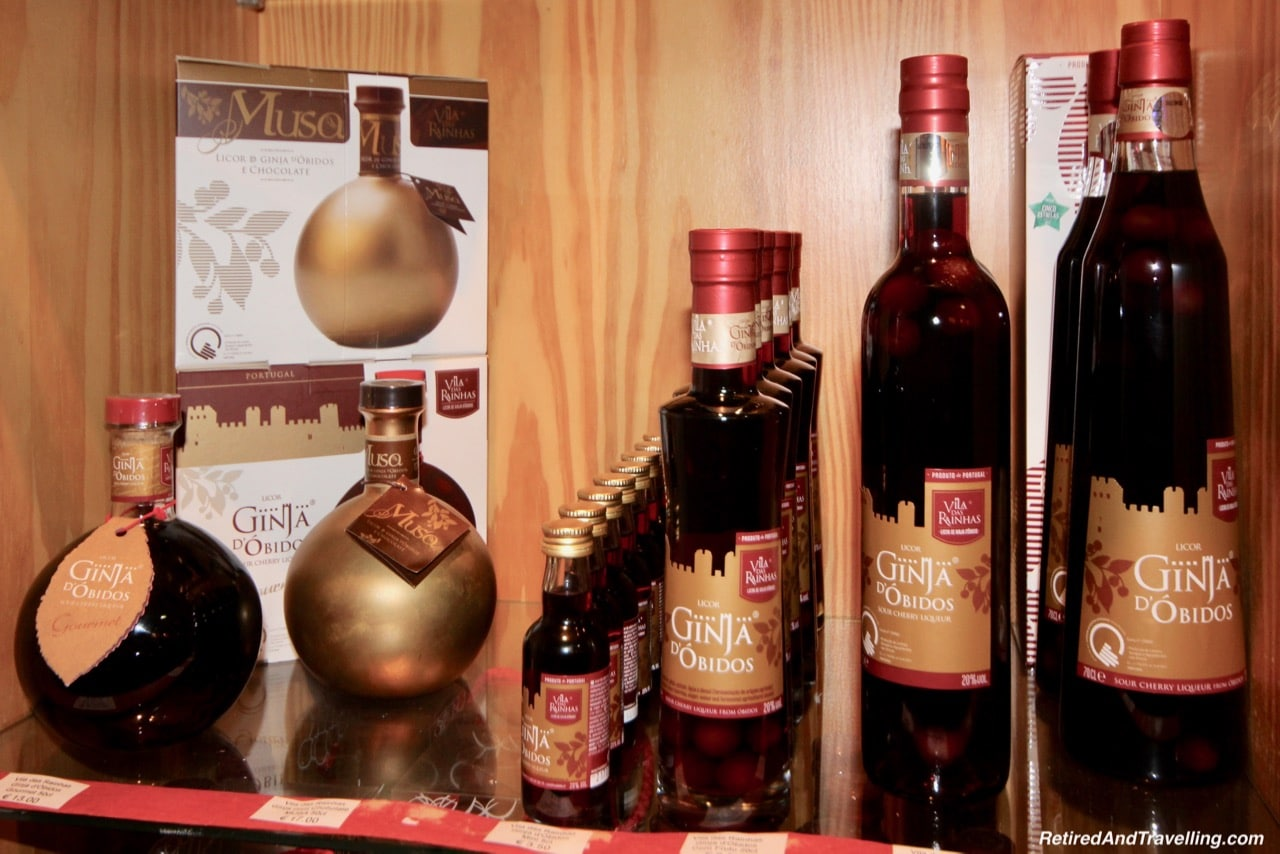 Ginja and Chocolate Sold In The Stores - Ginja In Obidos.jpg