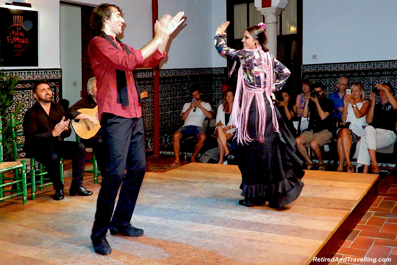 Seville Flamenco Show on Devour Seville Tour - Flamenco and Food in Seville.jpg