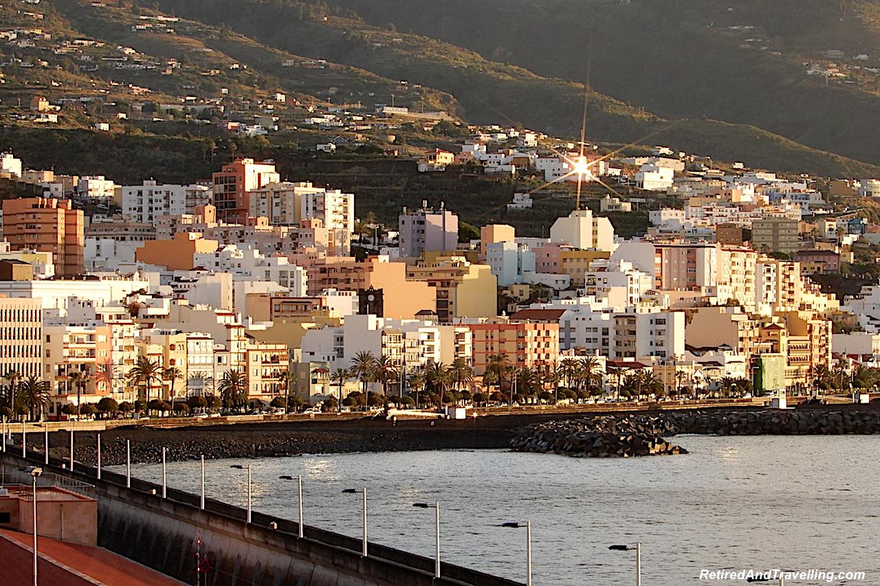Santa Cruz Port Sunrise - Green and Lush La Palma.jpg