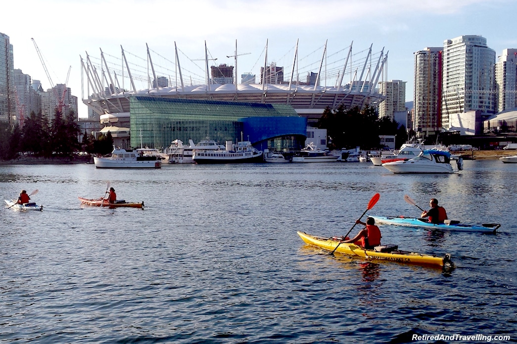 BC Place False Creek - Vancouver Stop On An Alaska Cruise.jpg