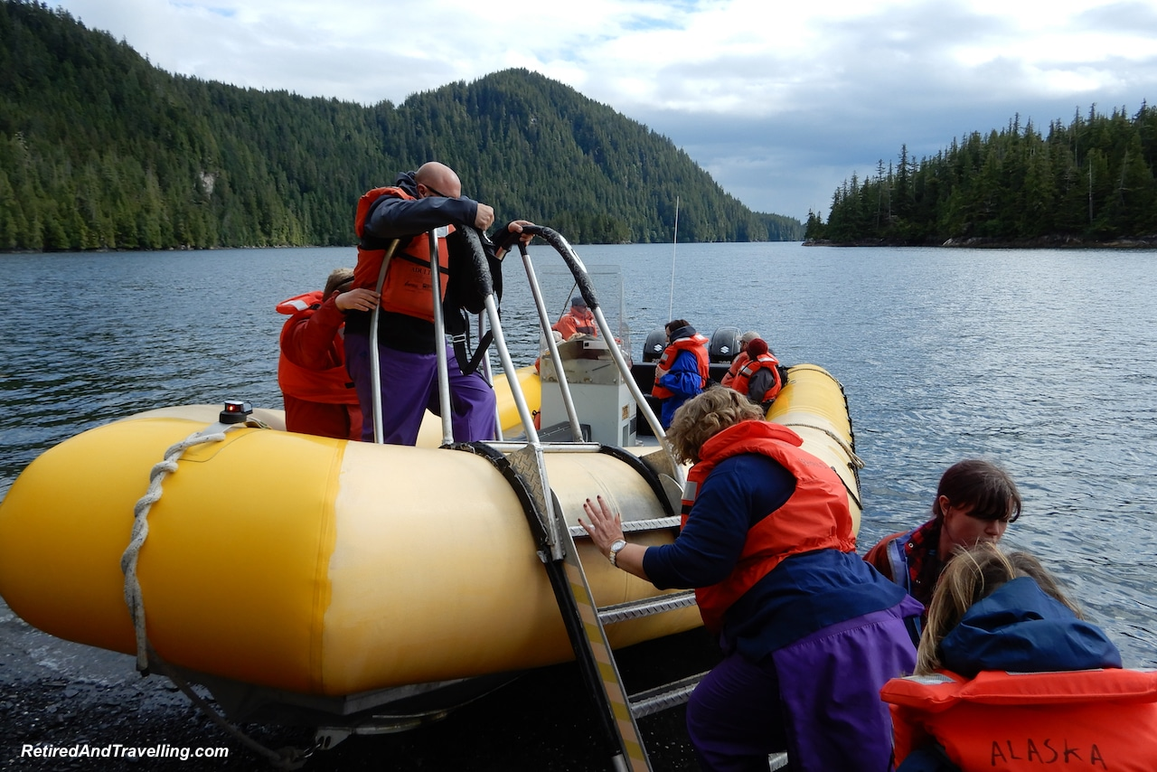 Beach Landing - A Rainforest Excursion in Ketchikan.jpg