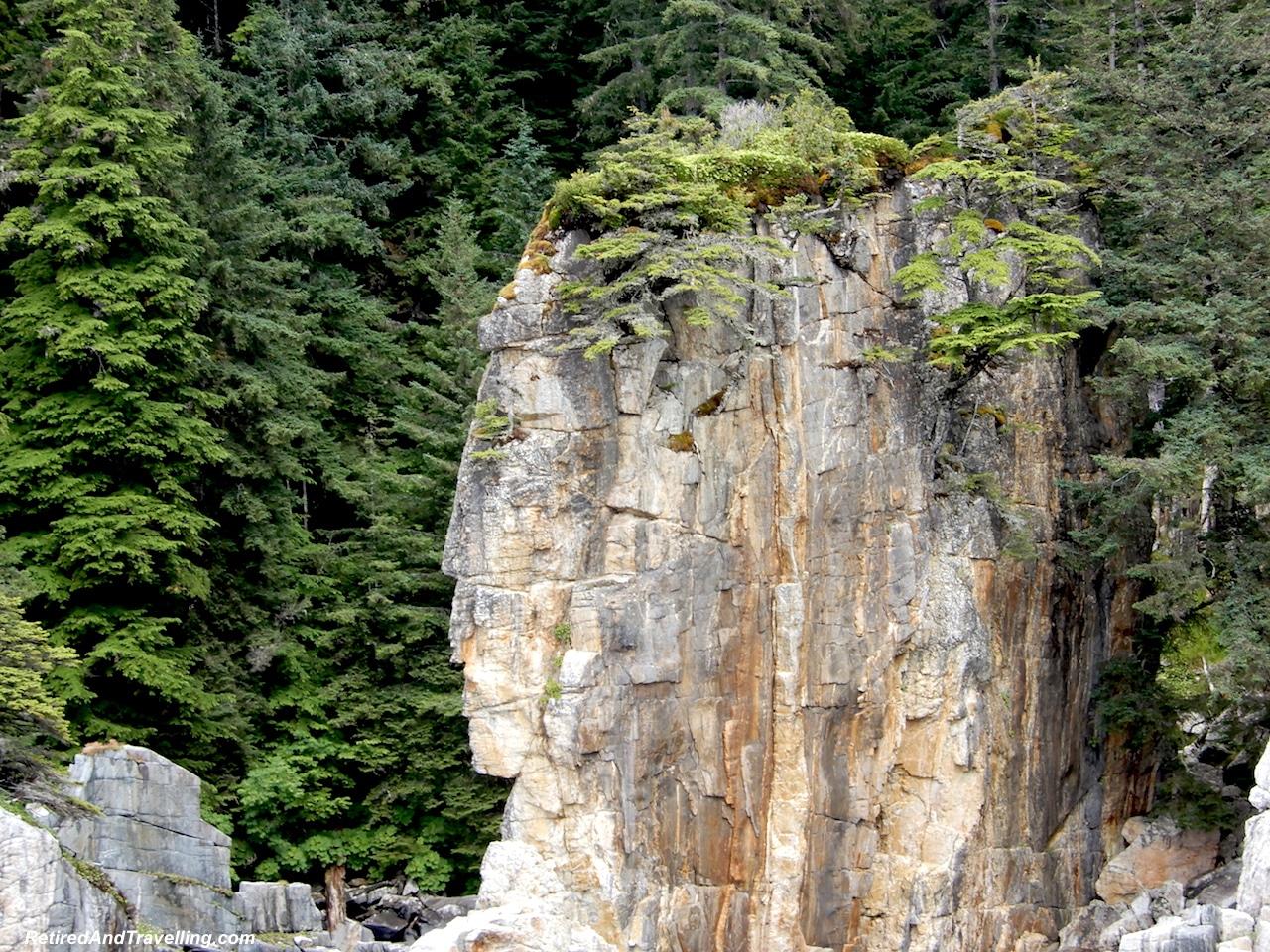 Prince Rupert Portland Inlet Indian Head Rock - Alaska cruise for grizzly bears.jpg