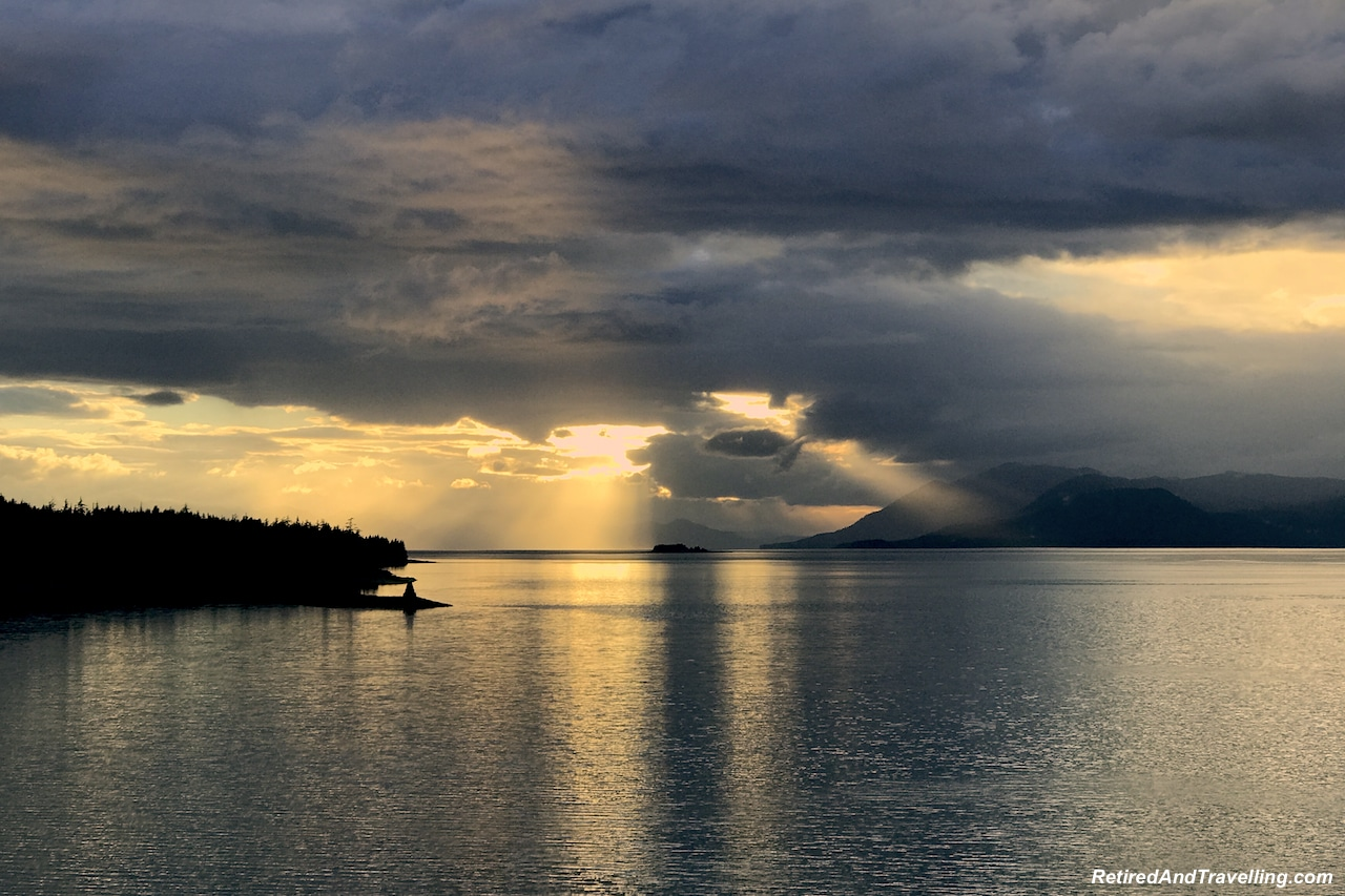 Sunset Cruising the Inner Passage - Alaska Cruise From Seattle.jpg