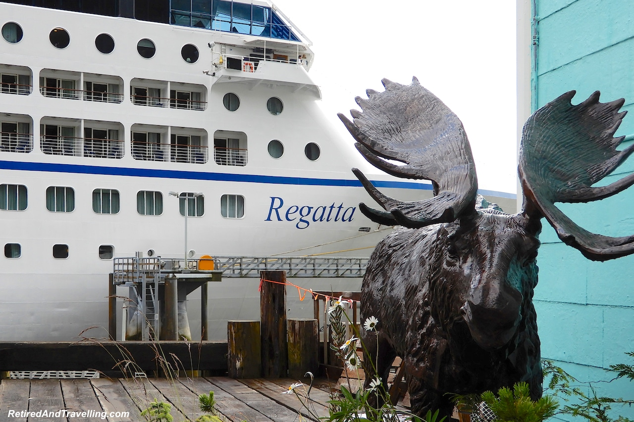Oceania Cruises Regatta Ketchikan Harbour - A Rainforest Excursion in Ketchikan.jpg