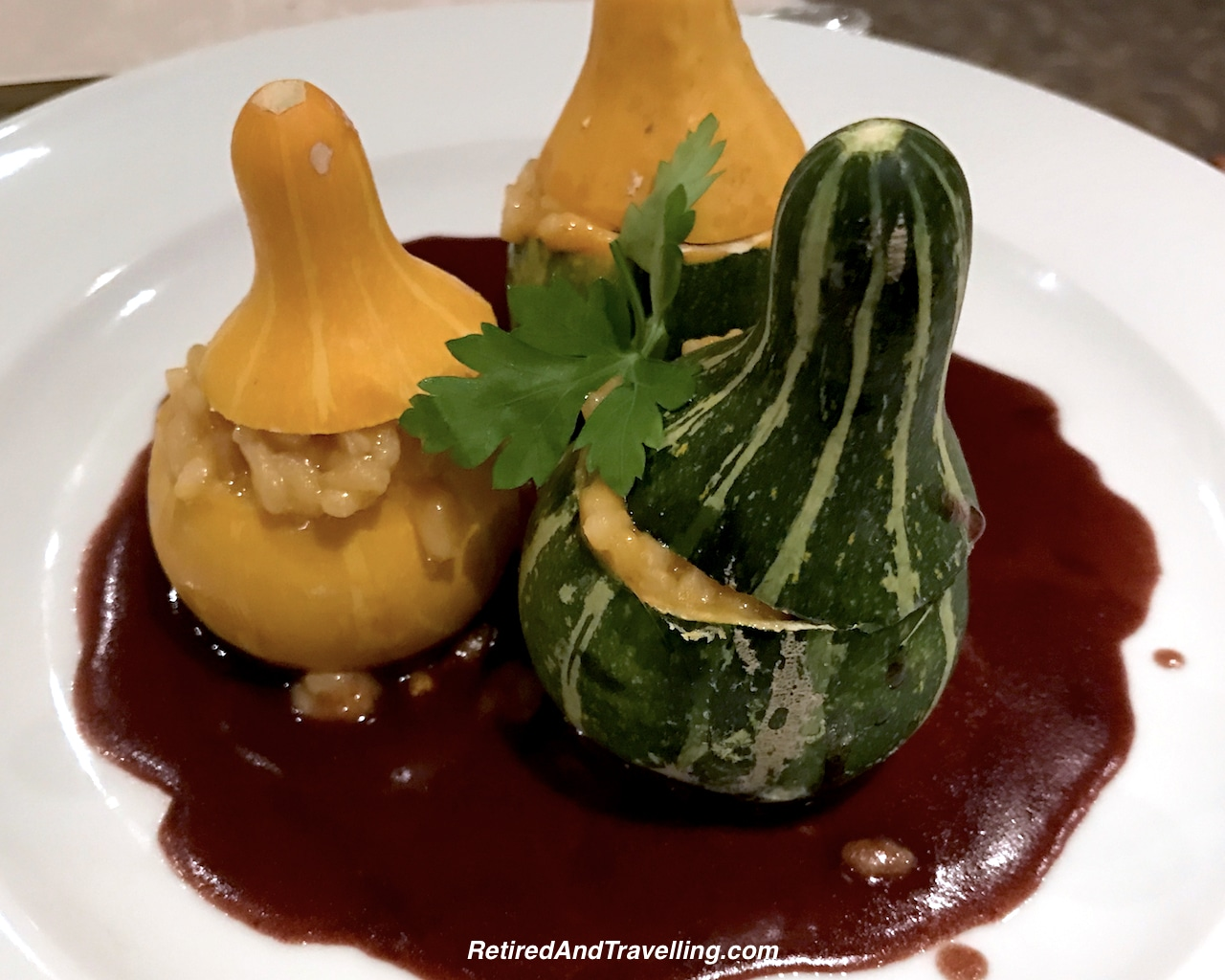 Fresh Italian Pumpkin Risotto - Cruise Ship Dining At Its Best.jpg