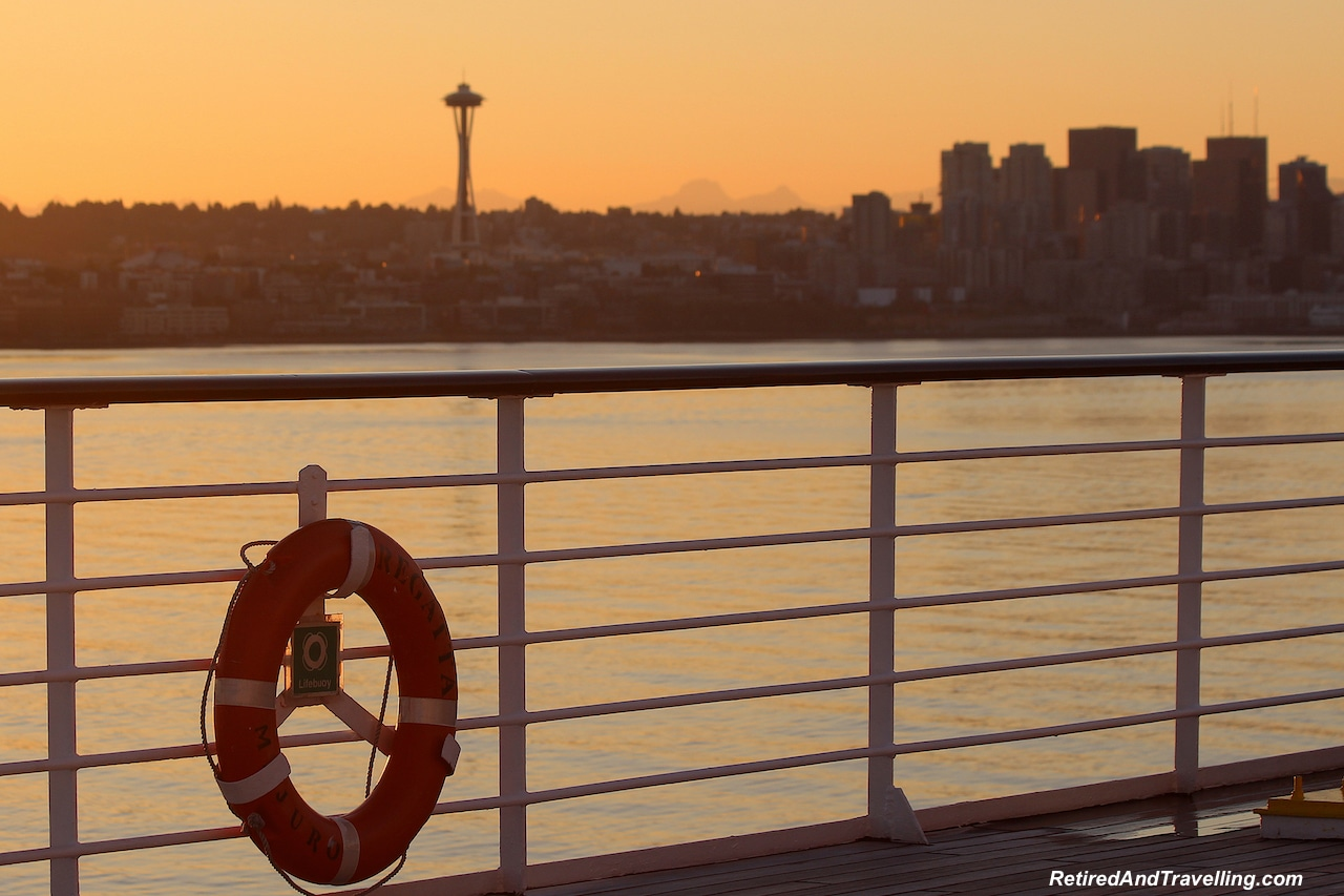 Sunrise From Our Cruise Ship - Seattle Space Needle Views.jpg