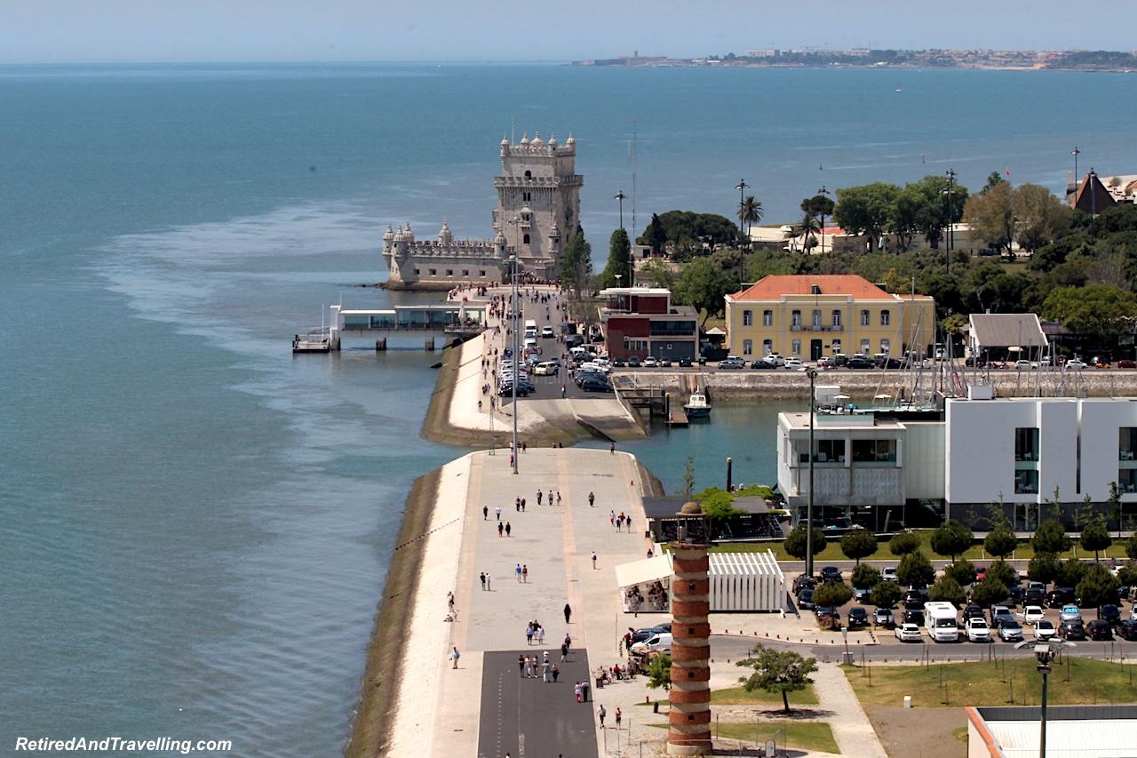 Padraodos Descobrimentos/Monument of Discoveries View of Belem Tower - Explore The Belem Area of Lisbon.jpg