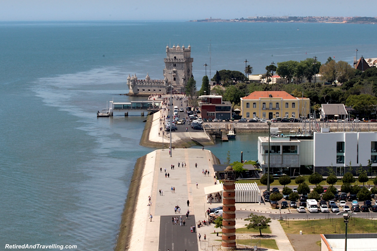 Monument of the Discoveries View to Belem Tower - Lisbon From On High.jpg