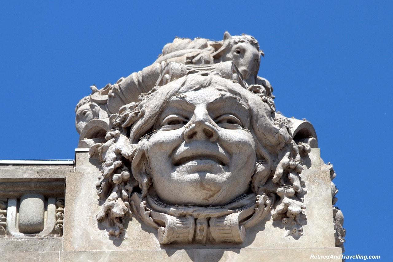 Teatro Nacional - Building Art - Art Everywhere When We Walked Around Porto.jgp