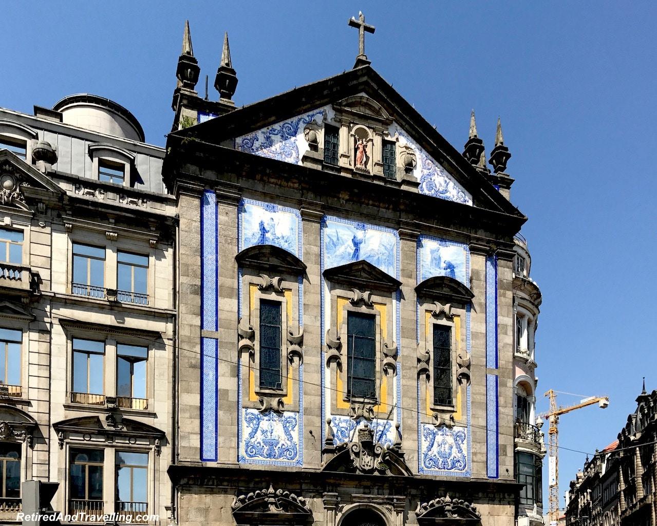Church Igreja dos Congregados - Art Everywhere When We Walked Around Porto.jgp
