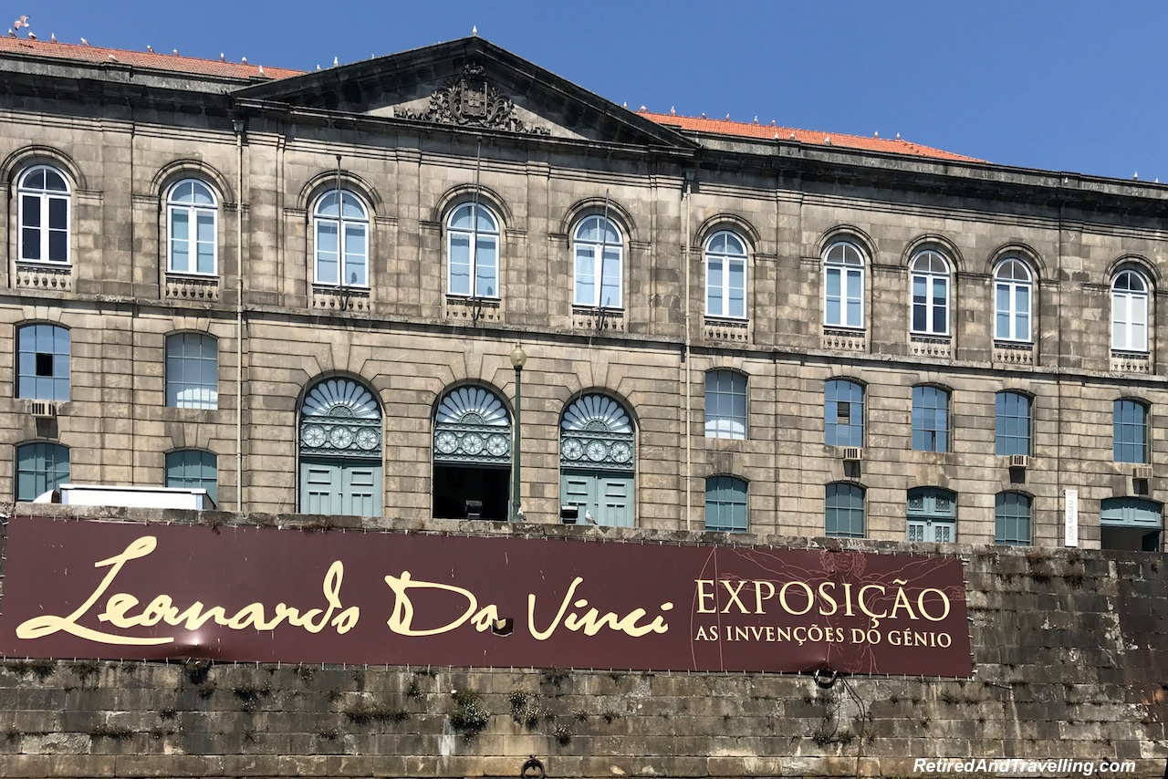 Da Vinci Exhibit- Cruise Riverfront View - Cruise The Douro River in Porto.jpg