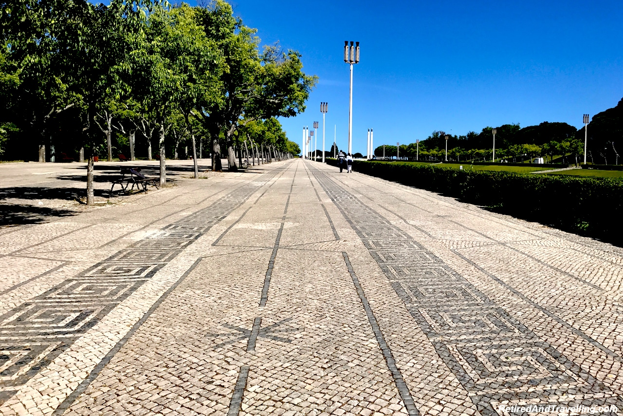 Edmond VII Park - Walking in Lisbon Down The Avenida da Liberdade.jpg