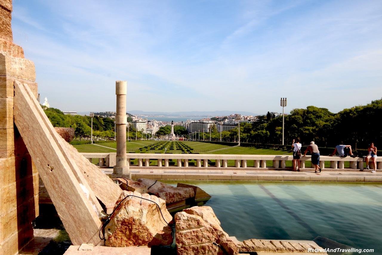 Edmond VII Park - Walking in Lisbon Down The Avenida da Liberdade.jpg