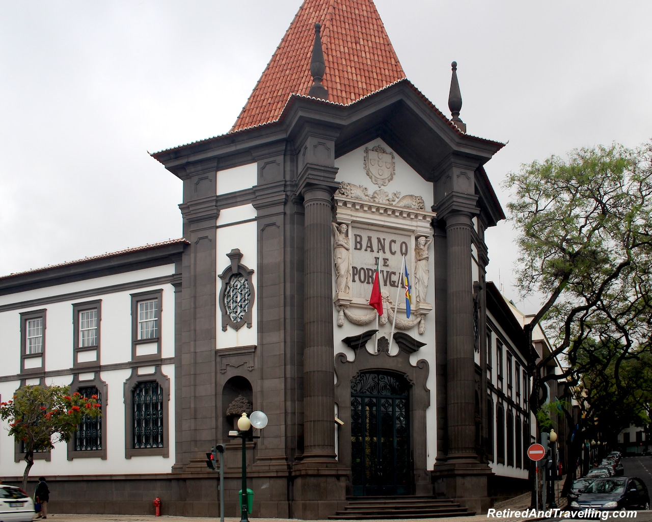 Funchal Town Bank of Portugal - Hills and Valleys of Madeira.jpg