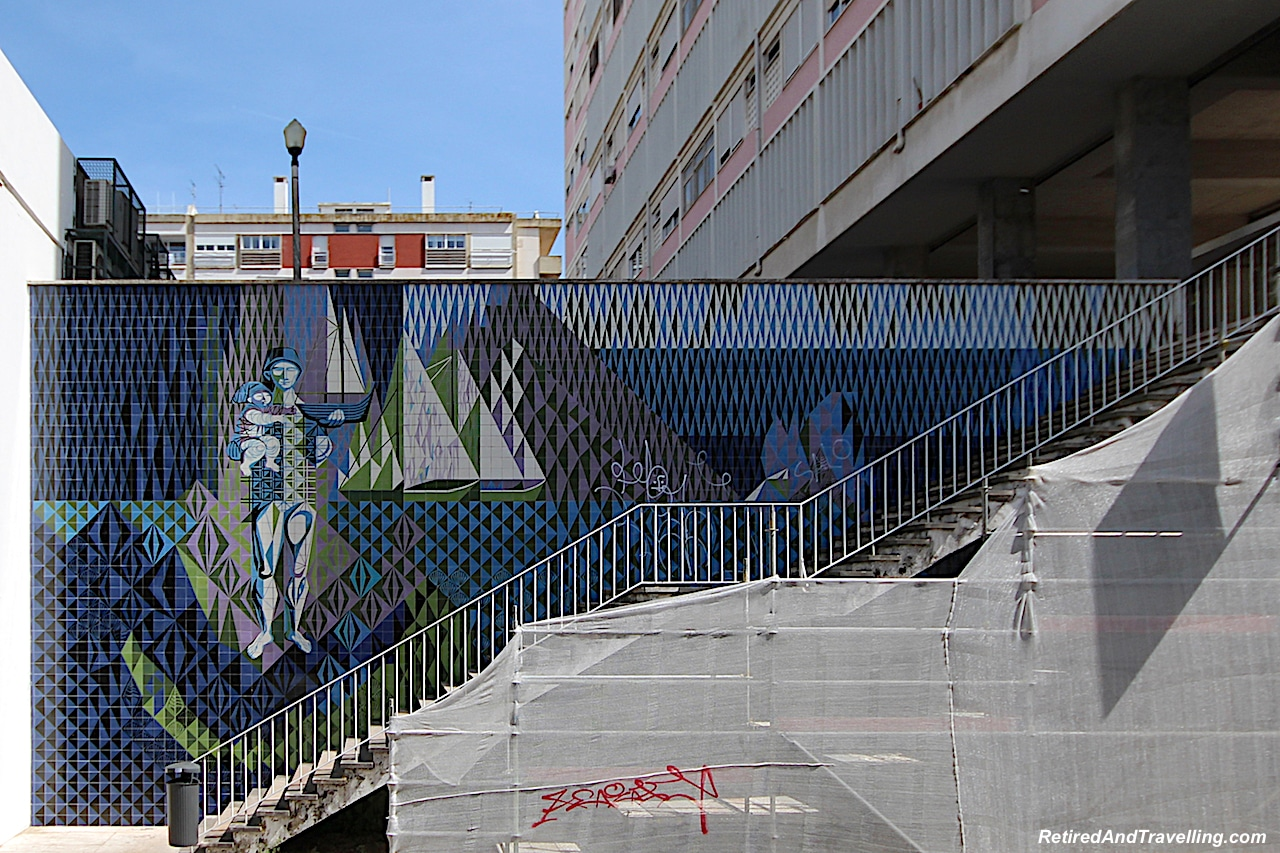 Colourful Creative Tiles Streetart - Hop On Hop Off Bus - Start A Portugal Stay in Lisbon.jpg
