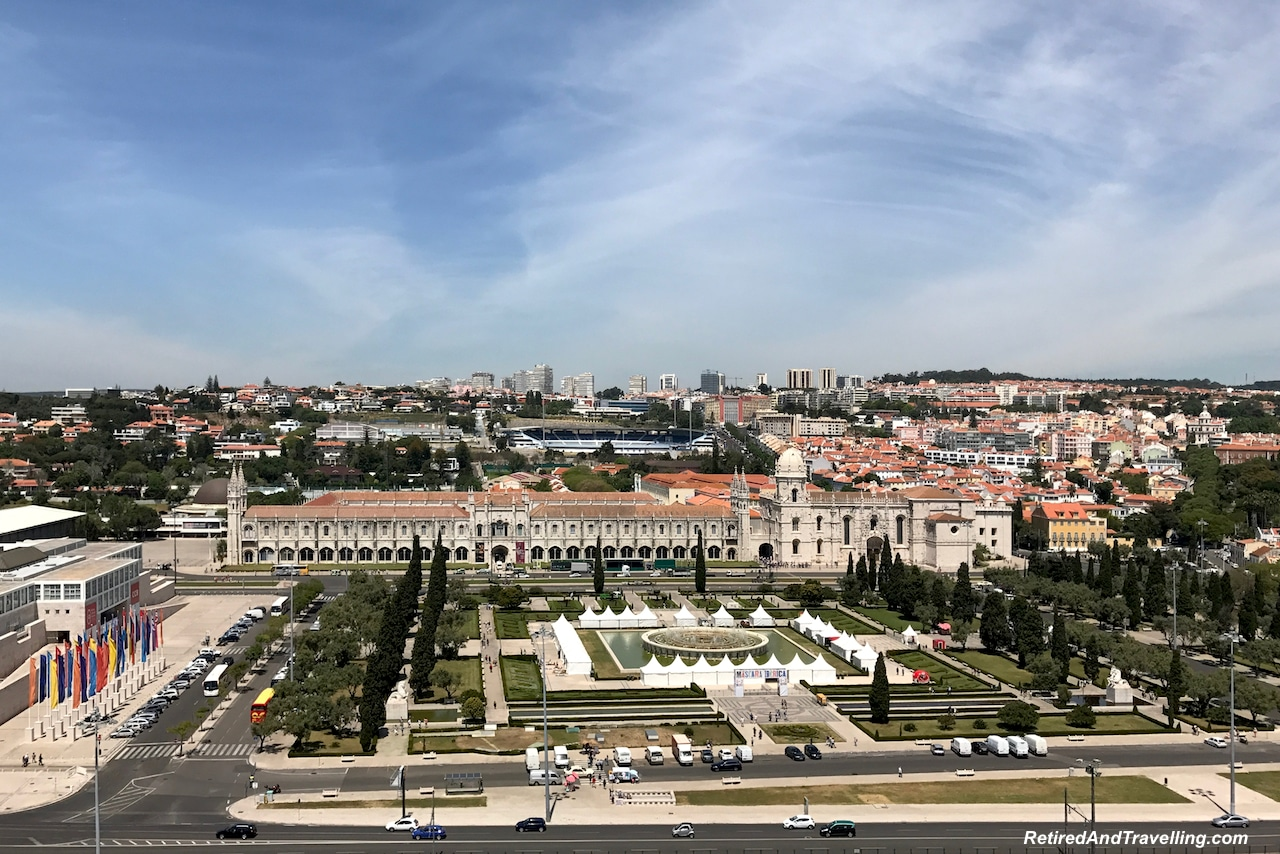 Padraodos Descobrimentos/Monument of Discoveries View of Jeronimos Monastery - Explore The Belem Area of Lisbon.jpg