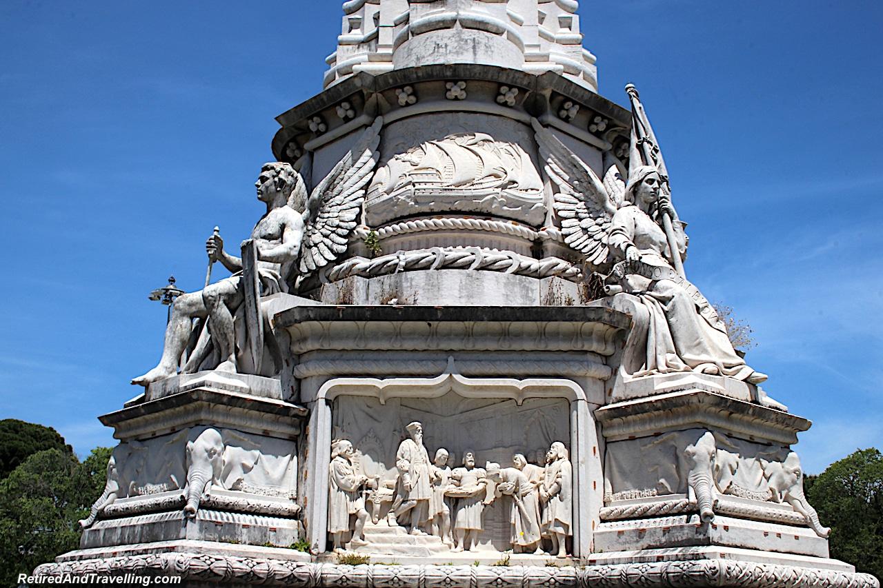 Jeronimos Park Statue - Explore The Belem Area of Lisbon.jpg