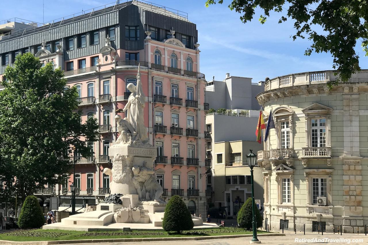 Statues - Walking in Lisbon Down The Avenida da Liberdade.jpg