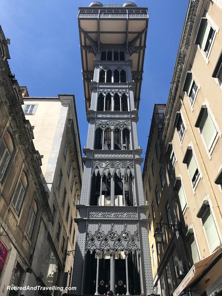 Santa Justa Lift - Walking in Lisbon Down The Avenida da Liberdade.jpg
