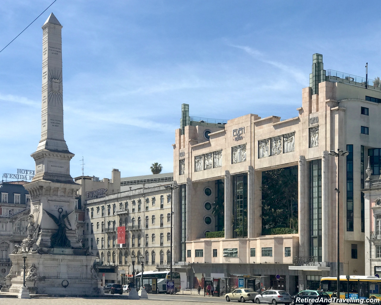 Eden Teatro - Rossio Square - Walking in Lisbon Down The Avenida da Liberdade.jpg
