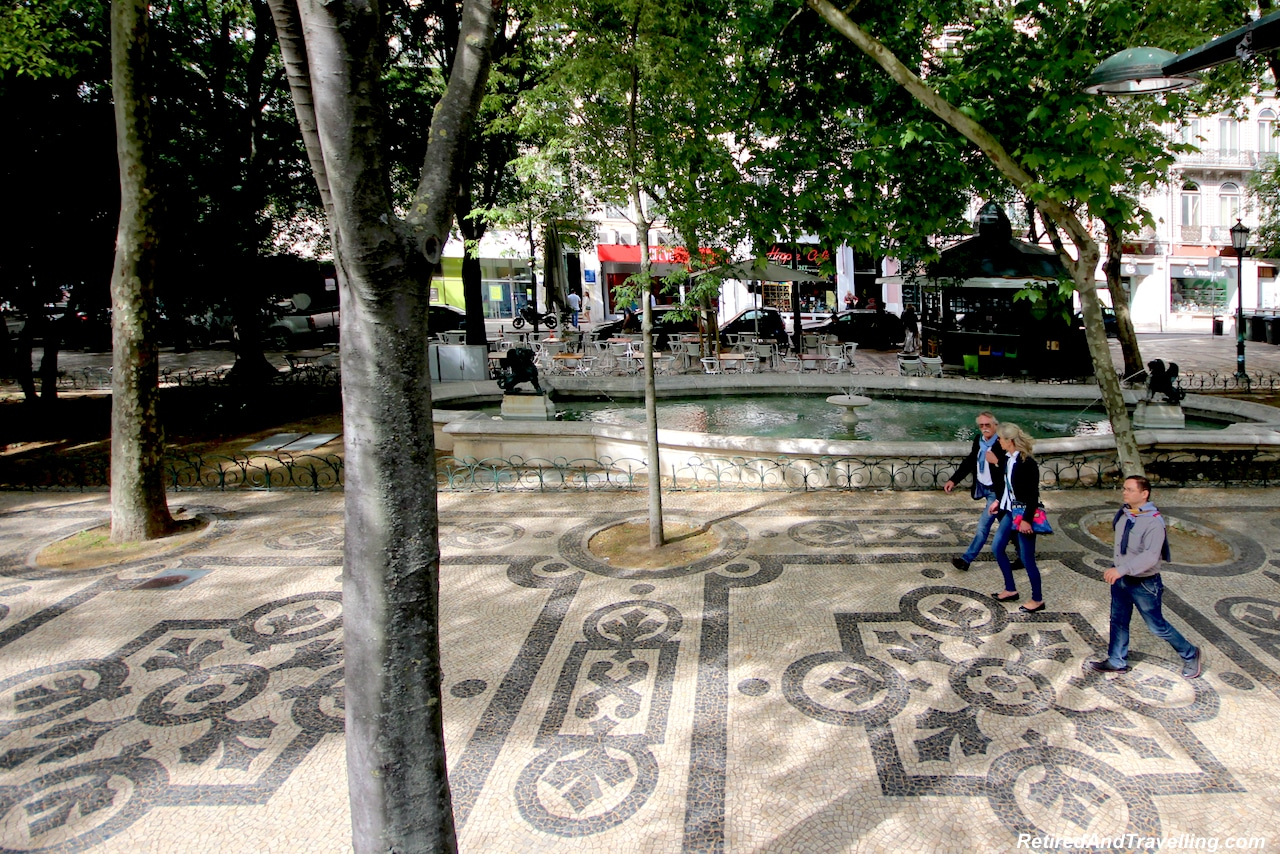 Cobblestone Paths - Walking in Lisbon Down The Avenida da Liberdade.jpg