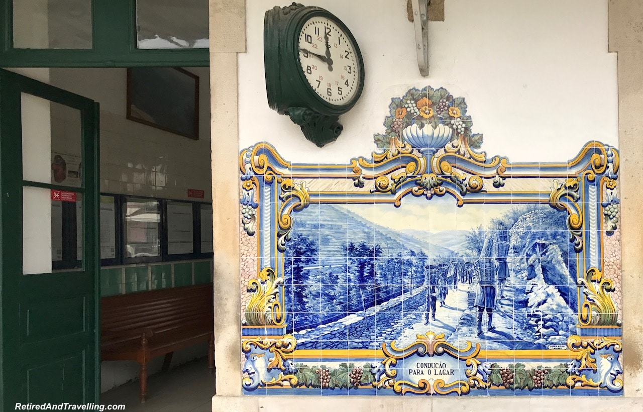Pinhao Railway Station Tiles - Art Everywhere When We Walked Around Porto.jgp