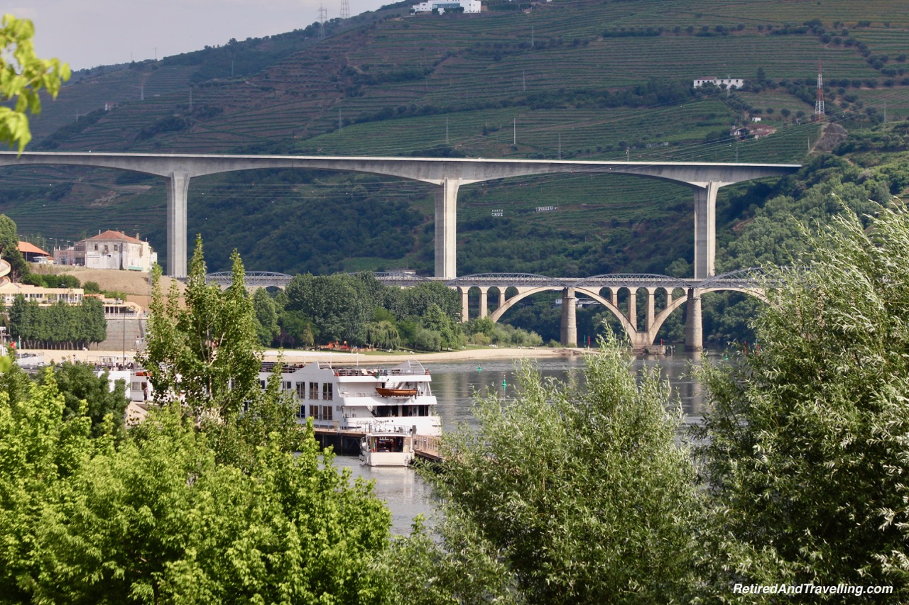 Arriving in Regua - Driving Along the Douro River Valley.jpg