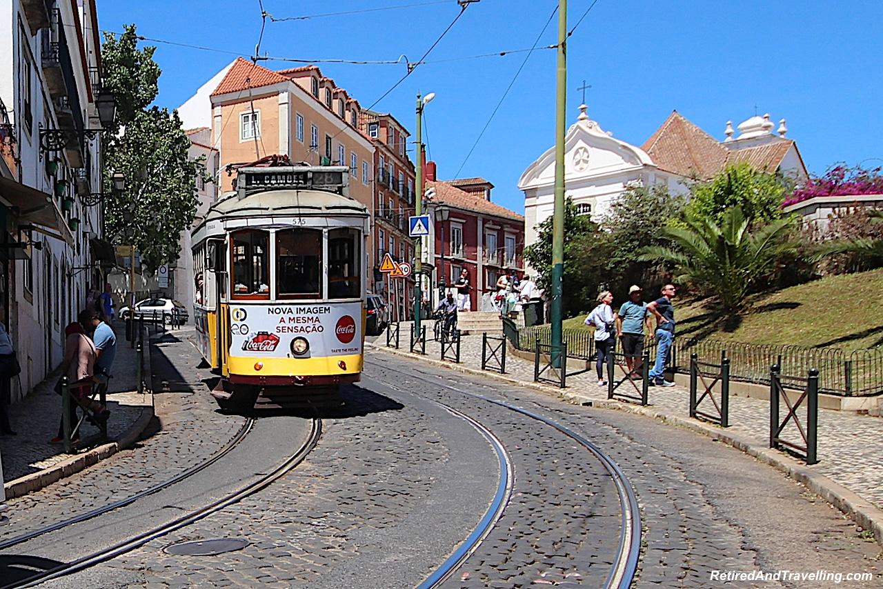 Trolleys - Walking in Lisbon Down The Avenida da Liberdade.jpg