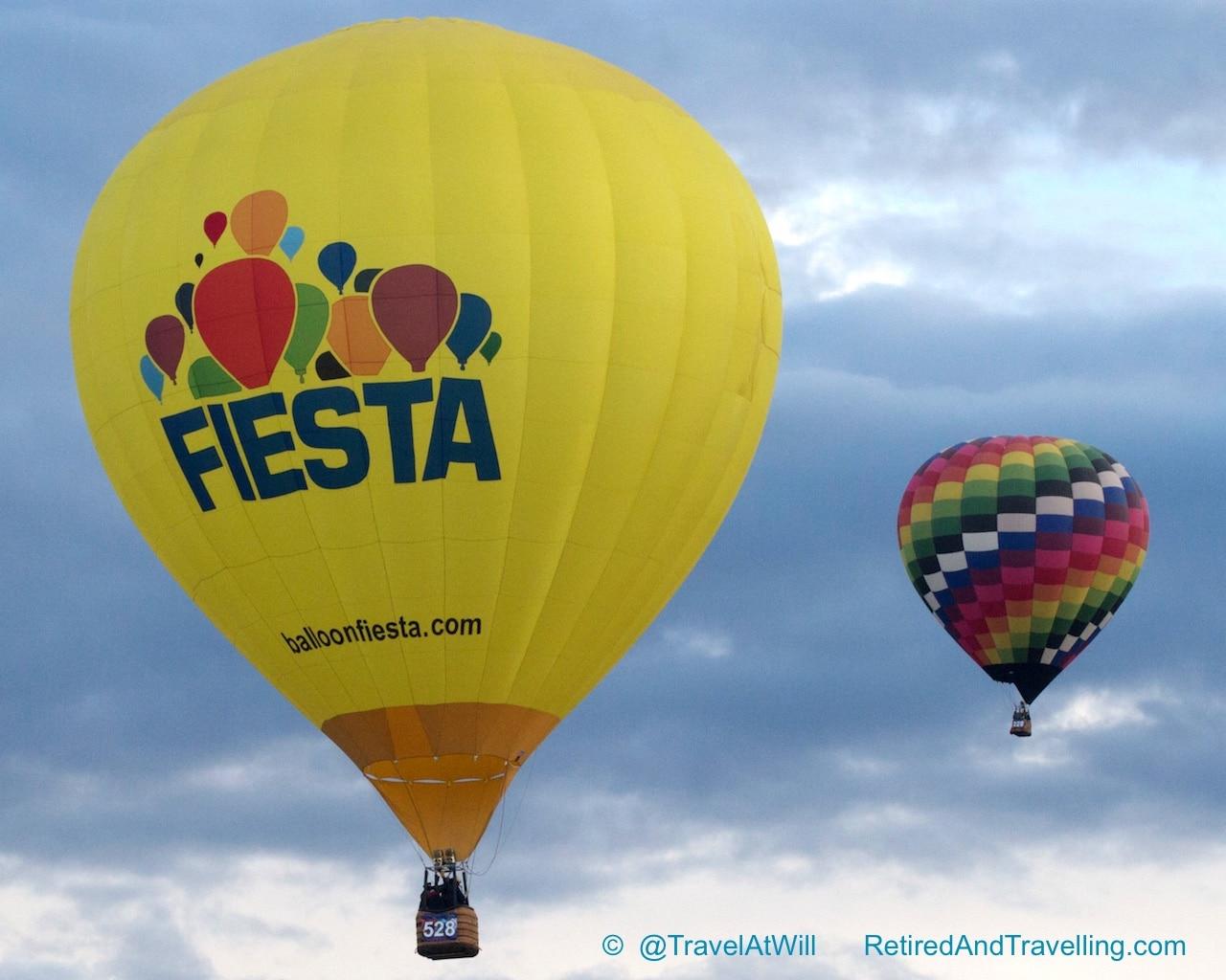 Balloon Fiesta Balloons - Albuquerque In the Fall.jpg